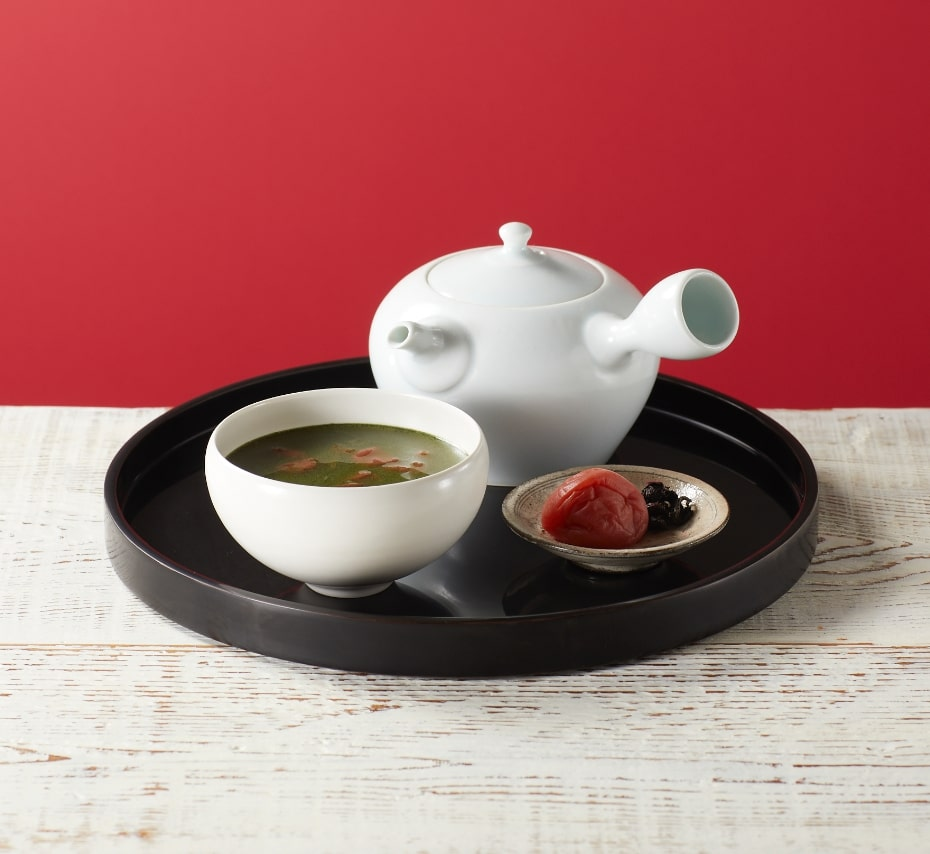 グリーン梅昆布茶