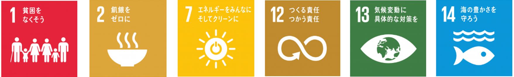 SDGs 1~14