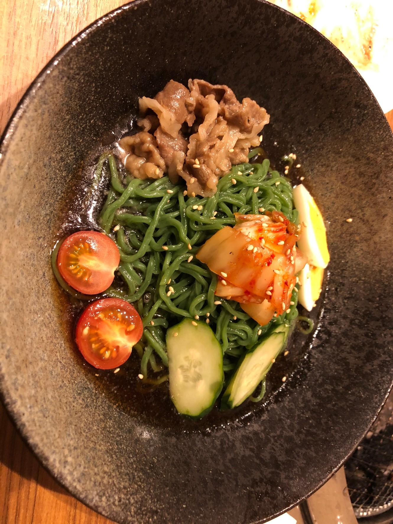 焼肉牛信_石垣島冷麺