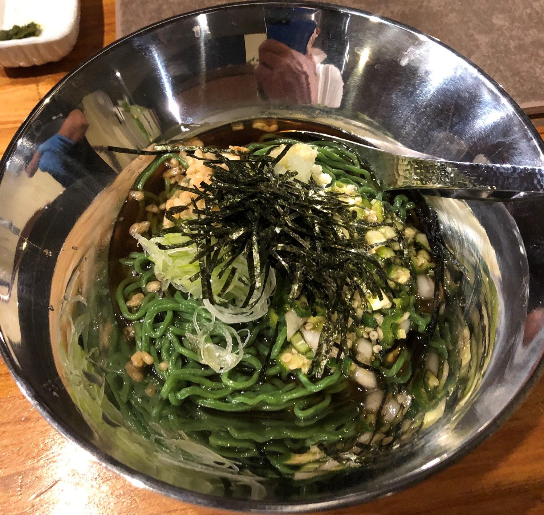 wp用 焼肉わたなべ_創作ユーグレナ冷麺