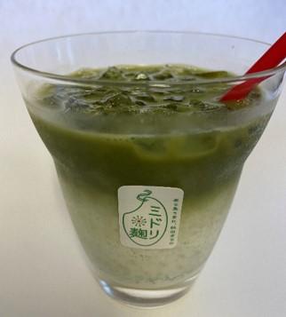 抹茶ミルク(ナガハマコーヒー)